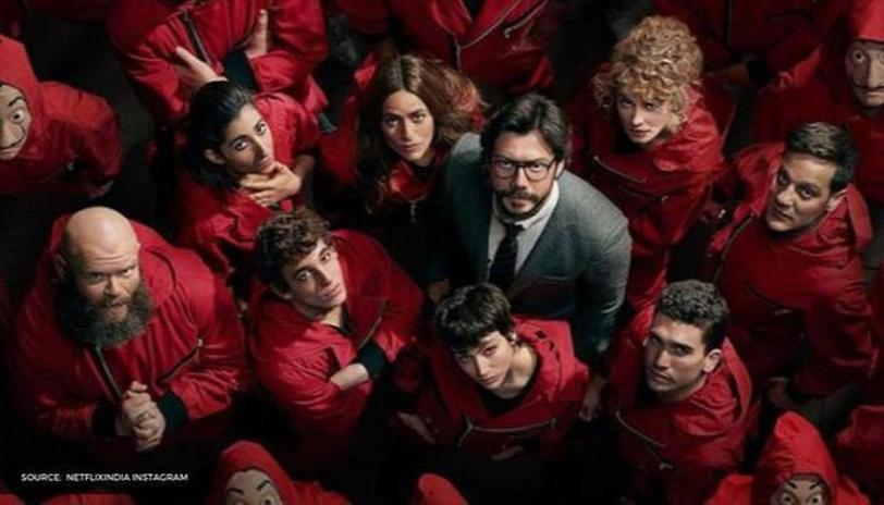 Money Heist Marketing